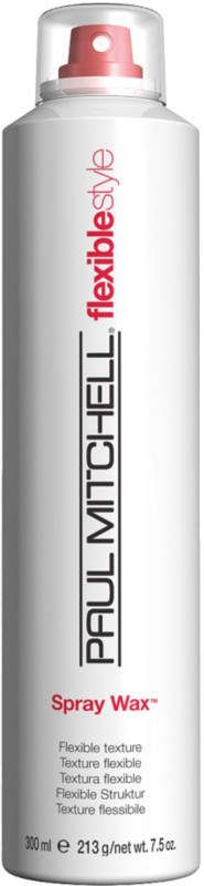 Paul Mitchell Flexible Style Spray Wax creates bendable texture and delivers a satin finish. Non-oily wax and sunflower seed oil create a satin finish; flexible beeswax adds pliability.  Added bonus: Light aerosol mist is easy to apply to all hair types and lengths.  **This is an affiliate link, meaning I will make a small amount of money if you purchase this product.  Don't worry, I would only ever endorse products that I use and stand behind 100%