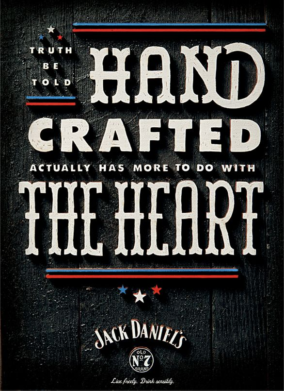 Simple, great copy from Jack Daniel's