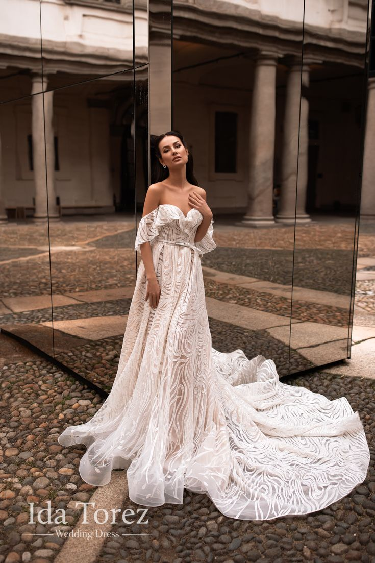 Wedding Dress Adina New Collection Milano Elegant Bridal Gown Ball Gown Wedding Dress Wedding Dresses