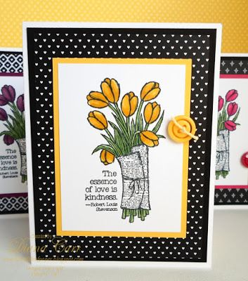Stampin' Up! Love is Kindness Handmade Card