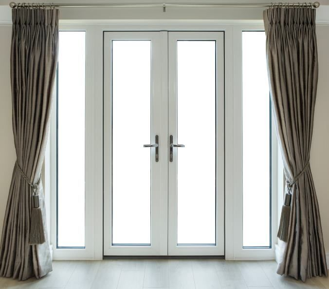 French & Single Hinged doors combine long lasting beauty & strength. They are great for easy access to the patio, garden or balcony since both panels open (in the double hinged door) it brings all the pleasure of the outdoors into the home. #frenchdoors #singlehingeddoors #doors