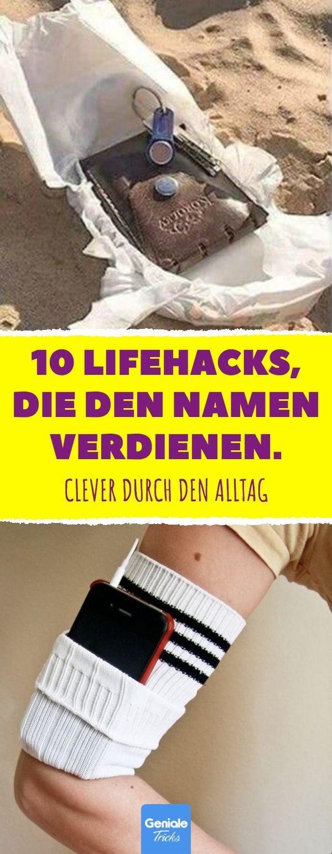 10 Lifehacks, die den Namen verdienen. 10 simple, aber clevere Lifehacks im Allt…