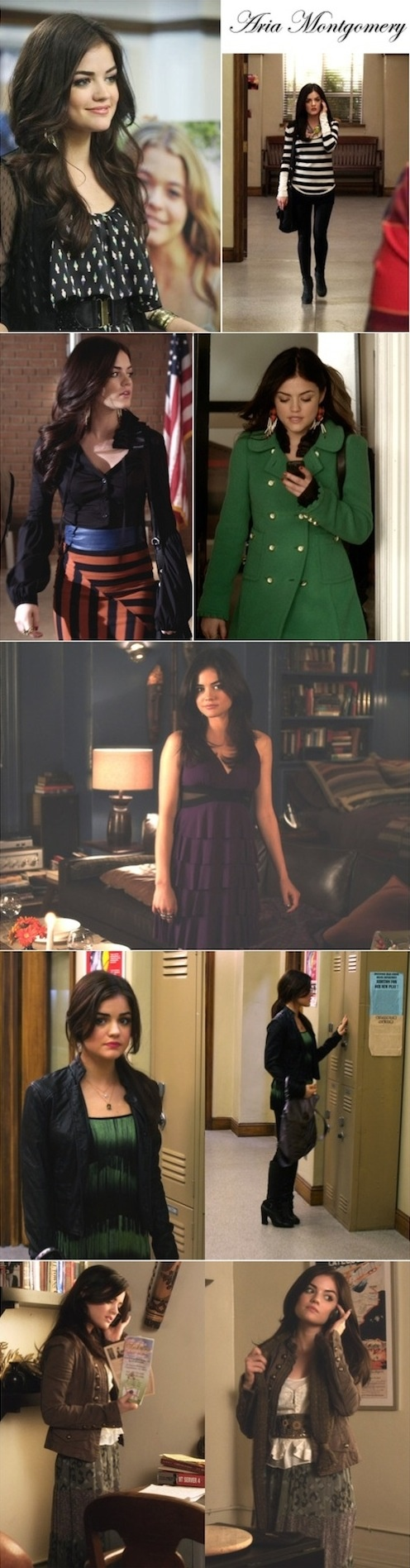 Aria | Pretty Little Liars... I love her style on the show