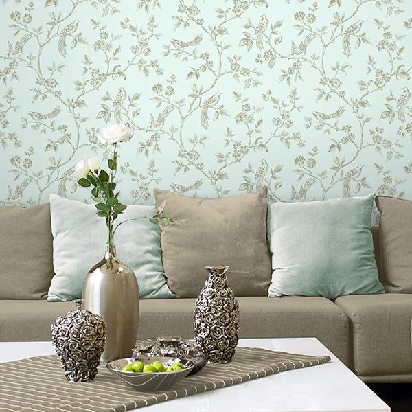 grey and duck egg blue living room - Google Search