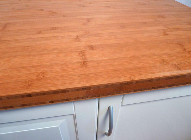 Mer enn 25 bra ideer om Bambus arbeitsplatte på Pinterest Küche - küchentisch aus arbeitsplatte