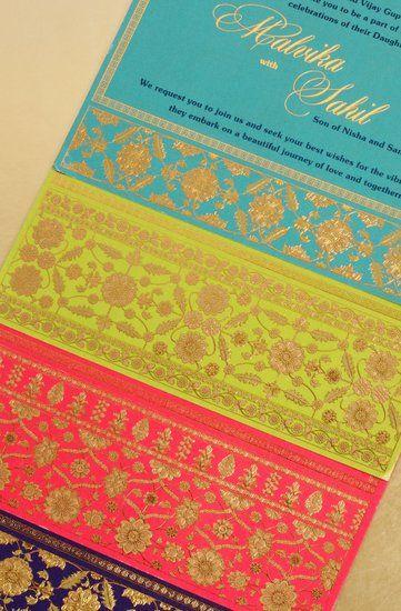 Wedding Invites - Handmade cards and wedding invitation wordings | WedMeGood #wedmegood #weddinginvites #invites
