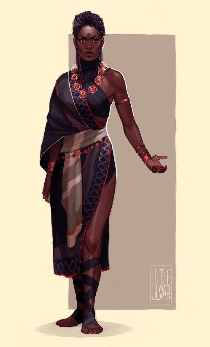 Trickster — char-portraits:   comm: Bala Maya by littleulvar