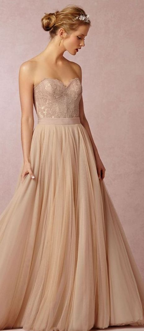 331 best blush and neutral wedding ideas images on for Unique wedding dresses toronto
