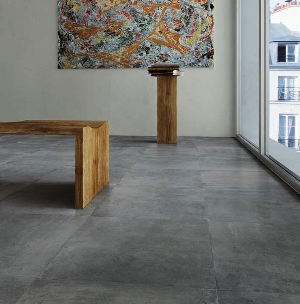 Nextra - colored-body concrete look with soft variaton in a contemporary palette