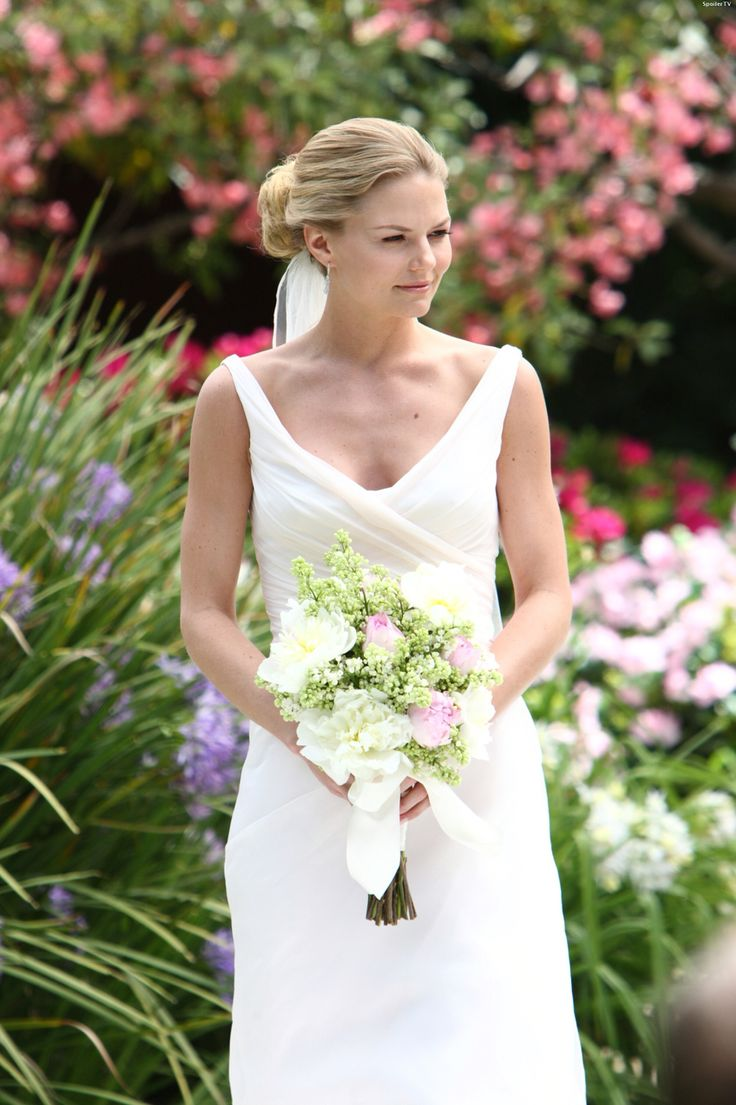 Alison Cameron Makeup Artist Bridal Makeup For Black And: Jennifer Morrison As Alison Cameron In The Wedding Dress