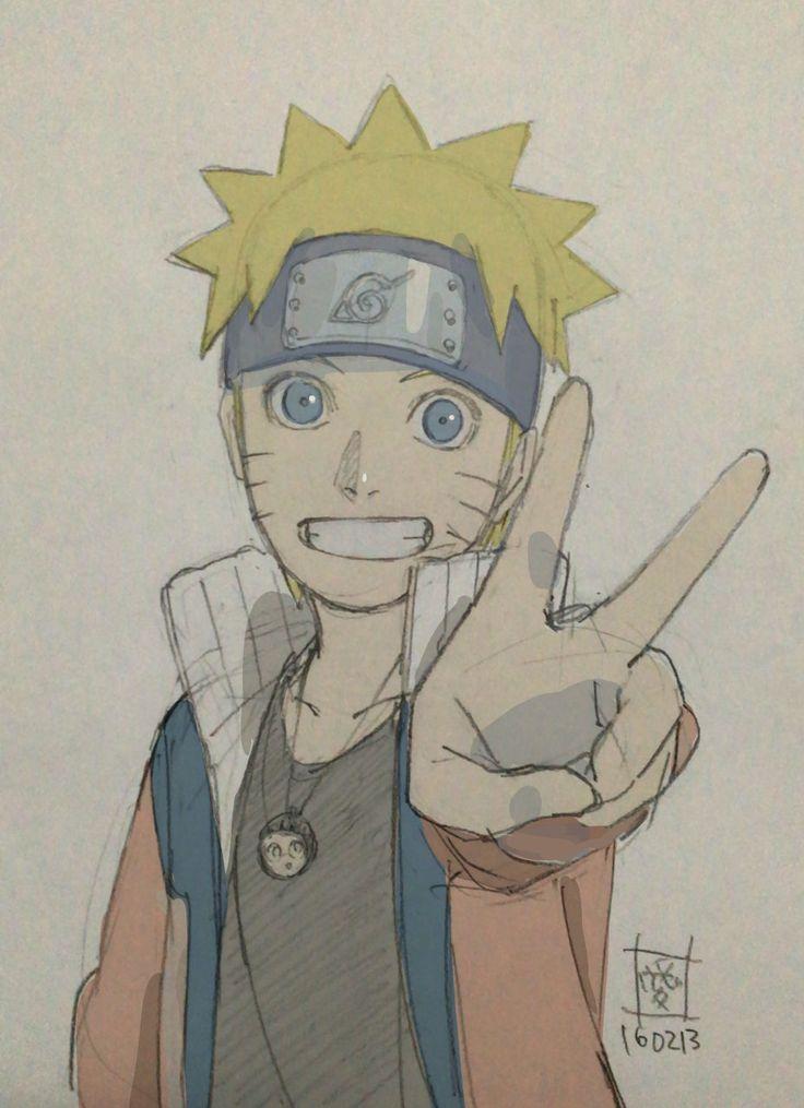 Naruto Uzumaki. Cuuttieeee