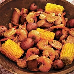 Slow Cooker Recipe - Cajun Shrimp Boil
