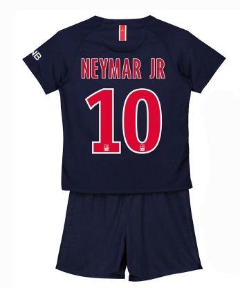 e9d1013fdb575 Maillot PSG domicile 2018 2019 enfant (10 NEYMAR JR) | Prix ...
