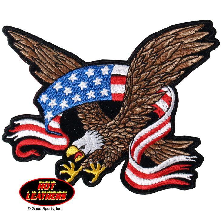 Eagle Patriotic Bald Mascot Flexing Arms Pencil Clipart - Free ...