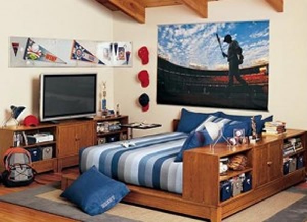 1152 Best Images About Home Boys Bedroom Ideas On Pinterest Baseball Scoreboard Baseball Wall And Teen Boy Rooms