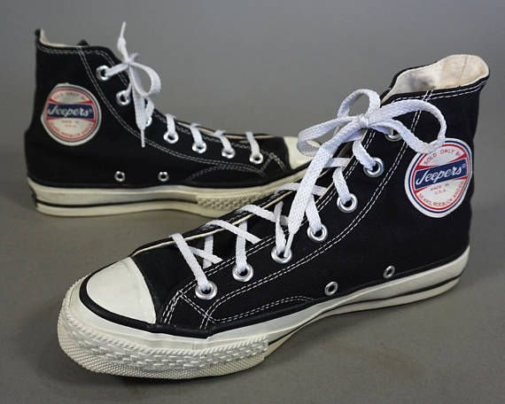 55c9ff96fe3ac Vtg RARE 60s-70s JEEPERS Hi Tops made in usa || SEARS made by ...