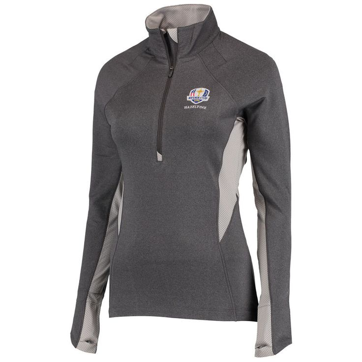 2016 Ryder Cup Under Armour Women's Verve Performance Half-Zip Pullover Jacket - Charcoal