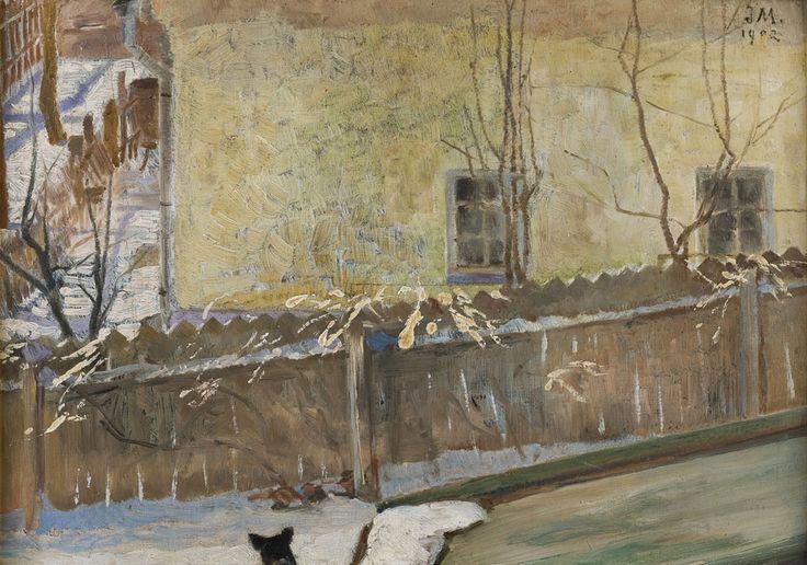 Jacek Malczewski, Pejzaż zimowy, 1902 rok