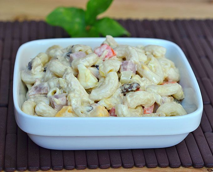 Image result for Weekend special: Easy to make healthy ''Fruity Macaroni Salad''