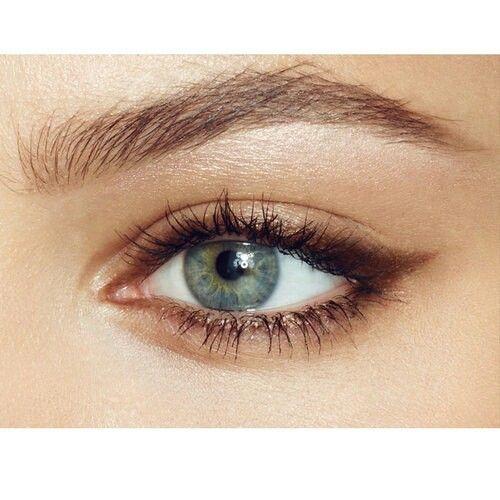 Bronze eyeliner