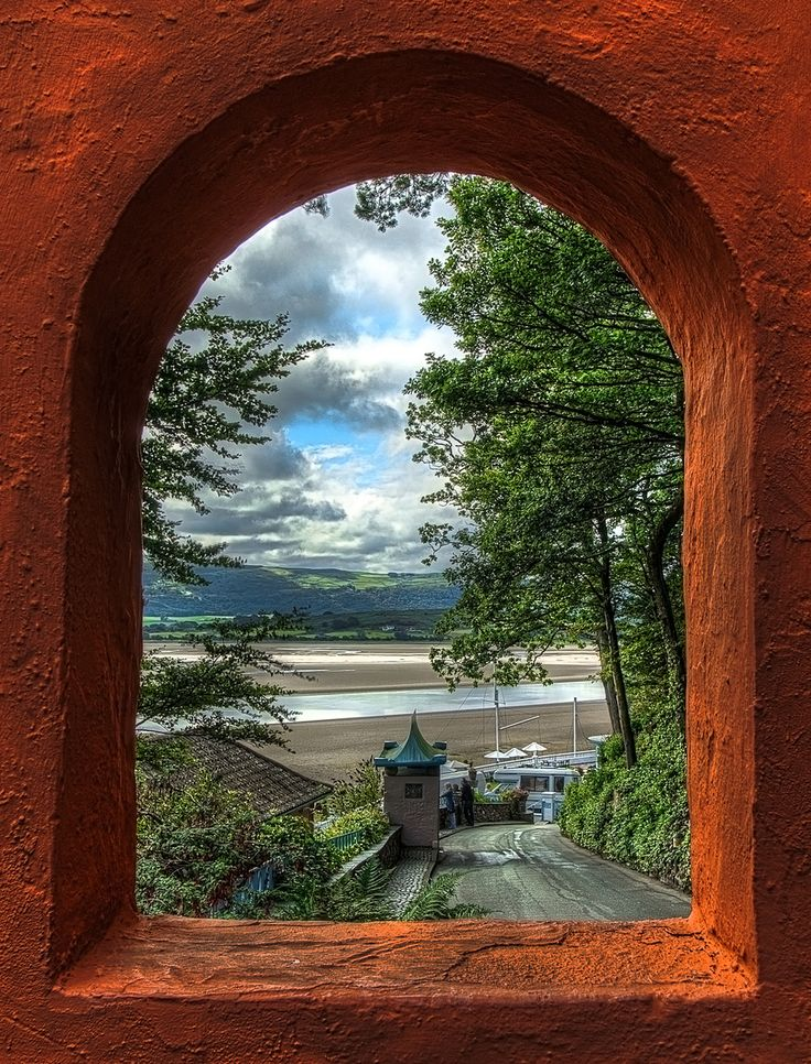 View from the arched window | Beautiful, Window view and ...