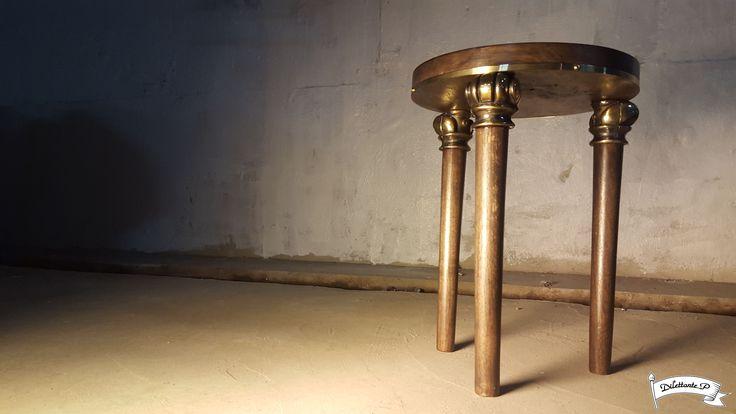 Fusion Stool #fusion #modern #victorian #classic #hybrid #furniture #stool #chair