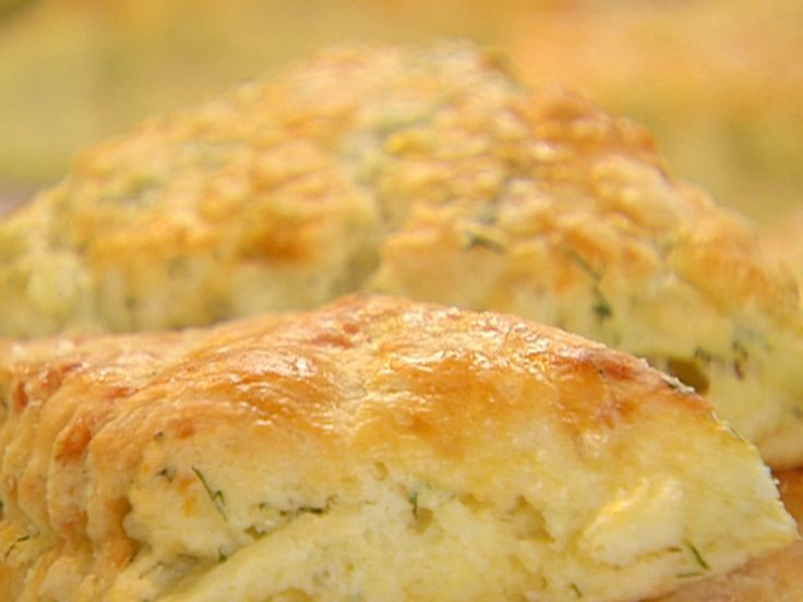 Cheddar-Dill Scones recipe from Barefoot Contessa via Food Network
