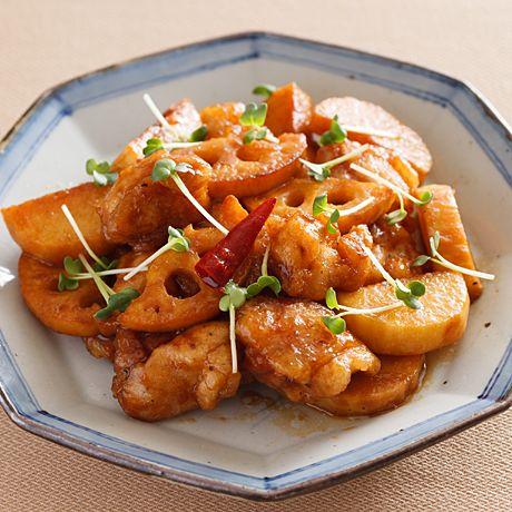 とり肉とれんこんの南蛮漬け   牛尾理恵さんの揚げものの料理レシピ   プロの簡単料理レシピはレタスクラブニュース