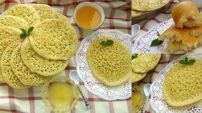 Багрир - марокканские блинчики, пошаговый рецепт с фото