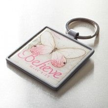 Believe, Butterfly Keyring<BR>  Butterfly Blessings