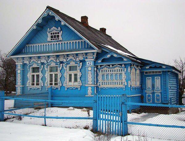 Russian dacha.