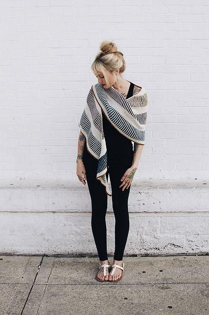 Briochealicious Shawl Pattern   knitting pattern for fingering weight yarn