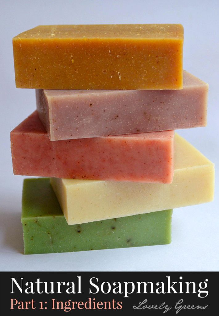 Learn how to make your own naturally colored and scented soap at home. This is the first part of a four part series showing you the ingredients, equipment, how to formulate recipes, and finally the process of soapmaking. Add to your DIY bath and beauty skills and be able to make your own soap for home and for gifts!