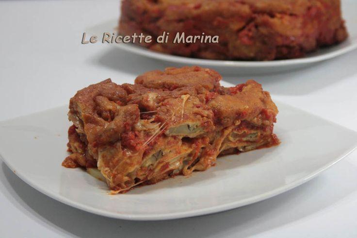 Parmigiana di carciofi e patate
