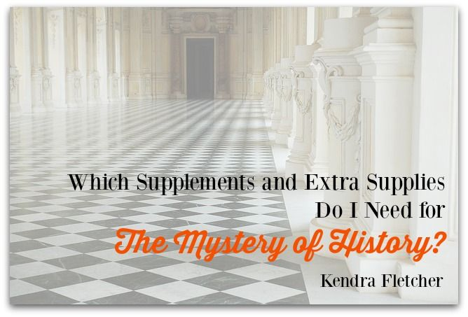 I'm often asked which supplements are truly needed when a family decides to use The Mystery of History for their homeschool history curriculum. There are some wonderful things available, but how do you choose what is right for your family? What is necessary? Mystery of History Volume 1 #MOHI0