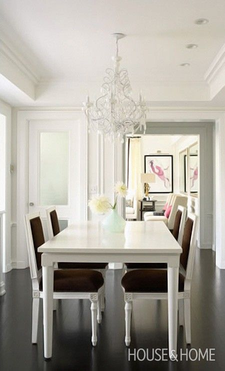 White Contemporary Dining Room Sets best 20+ white dining set ideas on pinterest | white kitchen table