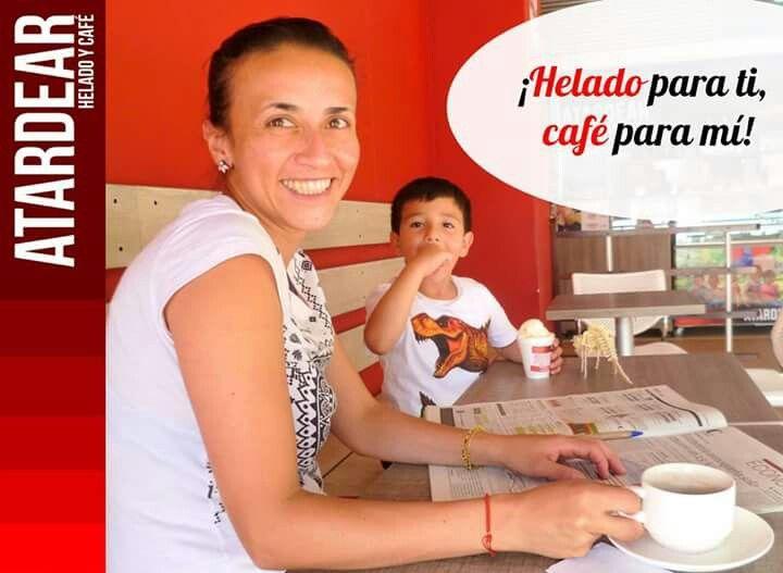 Tenemos deliciosos helados artesanales y cafés tipo exportación para grandes y chicos y una amplia carta de comidas para que pases un buen momento en un lugar diferente.   Te esperamos este sábado 28 de octubre para que disfrutes en familia con nuestra PROMOCIÓN  de pagas 2 y obtienes 3 en helados y cafés.  Mas información: atardear.com Tel. 5966008  #tardea #atardear #café #helado #heladoartesanal #promoción  Consulta las condiciones y restricciones de la promoción en nuestra página web.