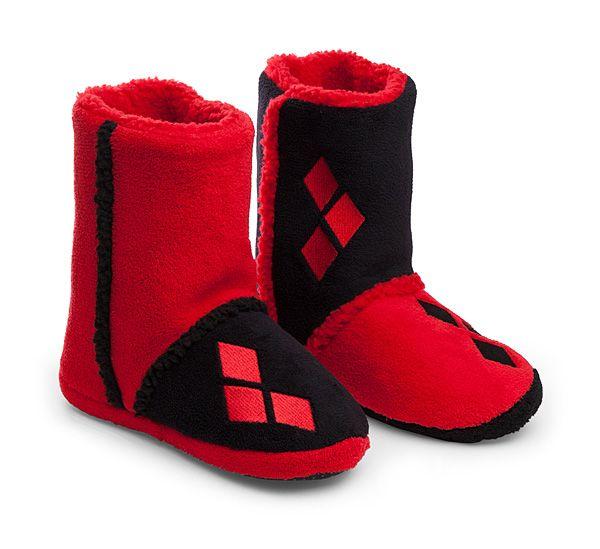DC Comics Harley Quinn Boot Slippers