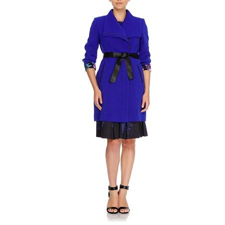 Table Eight Emilia Belted Long Sleeve Coat