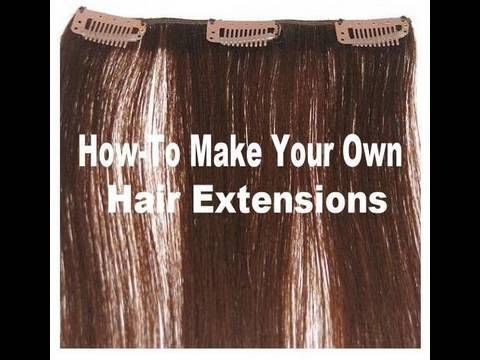 Best 25 diy hair extension clips ideas on pinterest diy hair how to make hair extensions clip in hair extensions how to tutorial including pmusecretfo Gallery