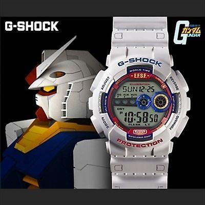 CASIO-Gundam-35th-Anniversary-Limited-Edition-G-SHOCK-Gundam-Color-White-ver-New
