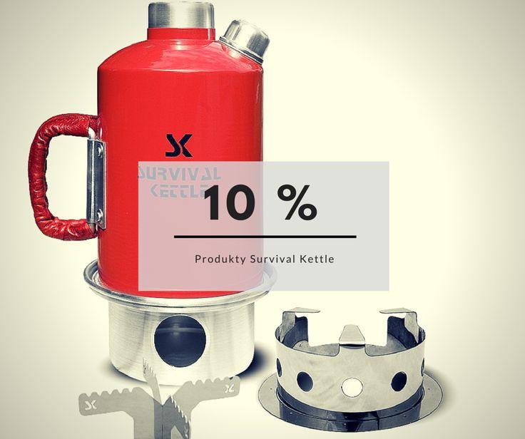 Promocja 10% na akcesoria turystyczne Survival Kettle - do końca lipca 2016.
