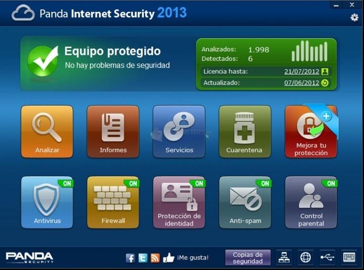 Panda Internet Security 2013 http://panda-internet-security.programas-gratis.net/