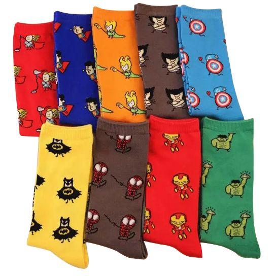 Обалденные мужские носки с супергероями! Размеры 38-45 - на совсем взрослых мальчиков 😊 https://cash4brands.ru/250517text-5/  💰Вы обязательно получите кэшбек с этой покупки!