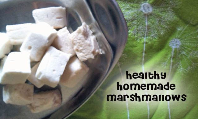 Healthy Probiotic Marshmallows - just updated to add marshmallow root (optional) to make them soothing for sore throats and colds too!
