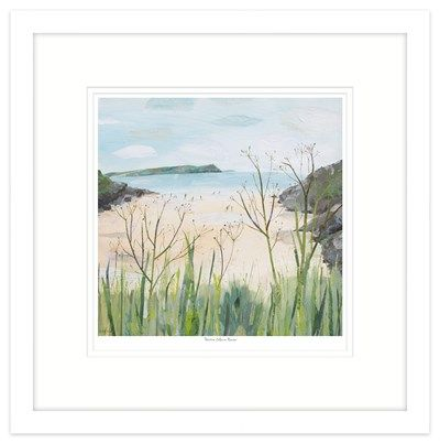 Pentire Glaze Haven Framed at Whistlefish Galleries - handpicked contemporary & traditional art that is high quality & affordable. Available online & in store
