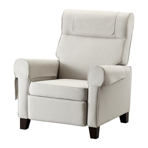 IKEA - MUREN, Recliner, Nordvalla beige - E liked this chair, but the colors aren't practical (this) or match (the other)