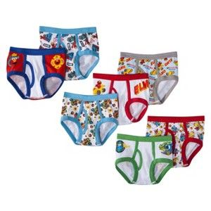 SESAME STREET? Toddler Boys' Elmo 7 Pack Briefs