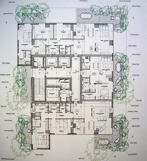 Il bosco verticale di milano architetto stefano boeri for Log home planimetrie