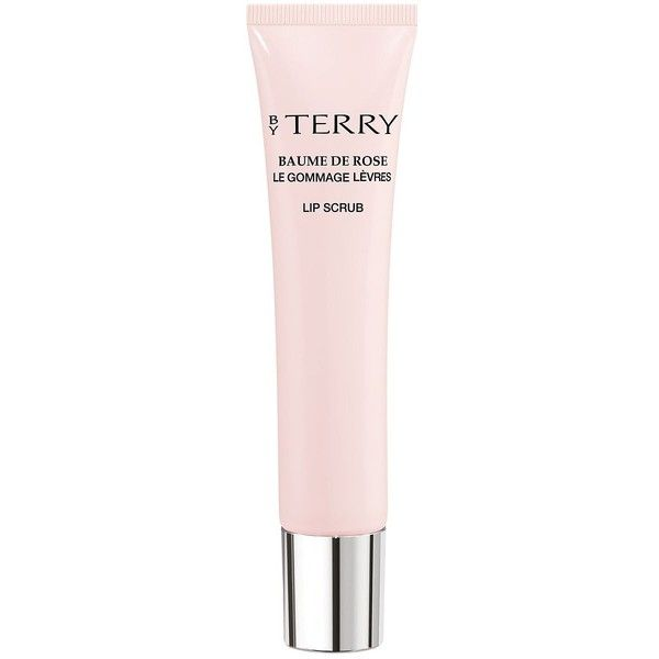 By Terry Baume de Rose Lip Scrub/0.5 oz. (43 CAD) ❤ liked on Polyvore featuring beauty products, skincare, lip care, lip treatments and by terry